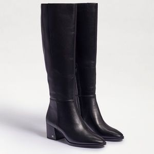 Sam Edelman Kerby Knee High Boot Black 7.5